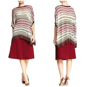 Two by Vince Camuto Woman Batwing Poncho Size L/XL
